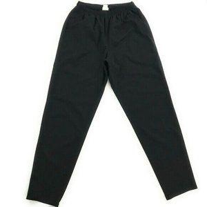 Black Diamond Mens Black Athletic Pants, Large